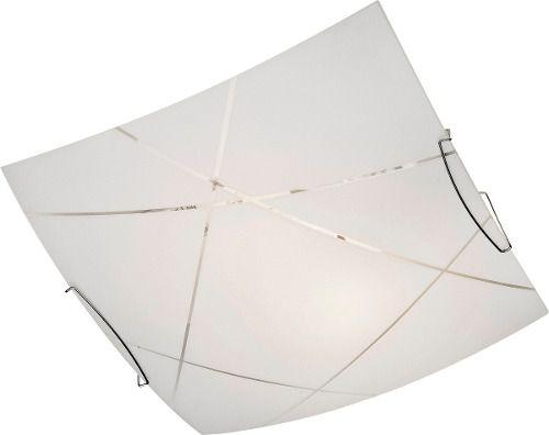Luminária Plafon Bronzearte Niteroi 30x30cm 2 Luzes E27