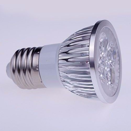 Lampada Spot Super Led Dicroica BRANCO FRIO 4w E27 Bivolt