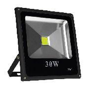 Refletor Led Holofote 30w Bivolt Prova D'água - Branco Frio