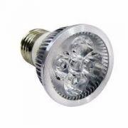 10 Lâmpada Spot Led Dicroica Branco Quente ou Frio 4w E27 Bivolt Super