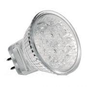 KIT 10 Lâmpada Led Mini Dicróica Mr11 Gu4 1w 12v Llum Bronzearte
