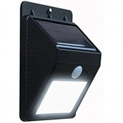 Balizador Arandela Led Solar C/ Sensor De Presença Parede