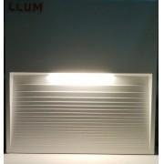 Balizador Wall Confort LED 3w Branco quente 3000k