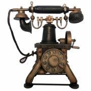 CAIXA MINI TELEFONE RETRO 23X21 CM