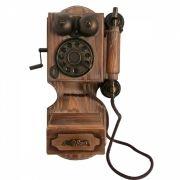 CAIXA MINI TELEFONE RETRO 30 CM