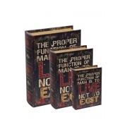 Kit Livro Caixa - 3 pcs