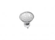 Lâmpada Dicróica De Led Gu10 1,2w Branco 3000k