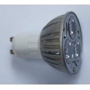 LAMPADA LED DICROICA GU10 3W 240LM Branco Quente 3000k