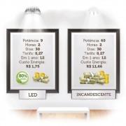 Lâmpada Para Iluminação Geral Bulbo Led A60 9W 6500K YU