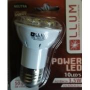 LAMPADA POWER LED PAR20 3,5W E27 190M BRANCA
