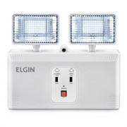 Luminária Dupla E Emergência Articulável LED 16W Até 6 Horas