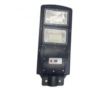 Luminária Poste de Energia Solar 100w com Sensor e Controle