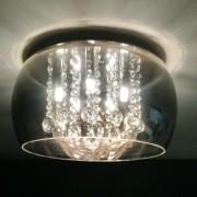 Lustre Cristal Soho PD002CF Bella 5 luzes g9 - SEMI NOVO