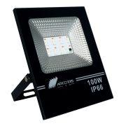 Refletor Led 100w Bivolt - com Controle Ip66 Floodlight Rbgw