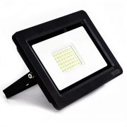 Refletor Slim Led 100w Holofote - Ip66 Branco Frio Bivolt
