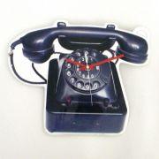 RELOGIO DE PAREDE DECORAÇÃO TELEFONE
