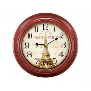 Relógio de Parede Vermelho