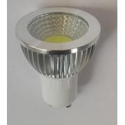 Spot  LED Embutir aço escovado Direcionável 5w