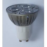 Spot Para Trilho Eletrificado Preto ou branco Led 3w