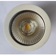 Spot redondo embutir  AR70 LED 7W Branco Frio quente ou Neutro