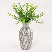 Vaso Prata em Cerâmica