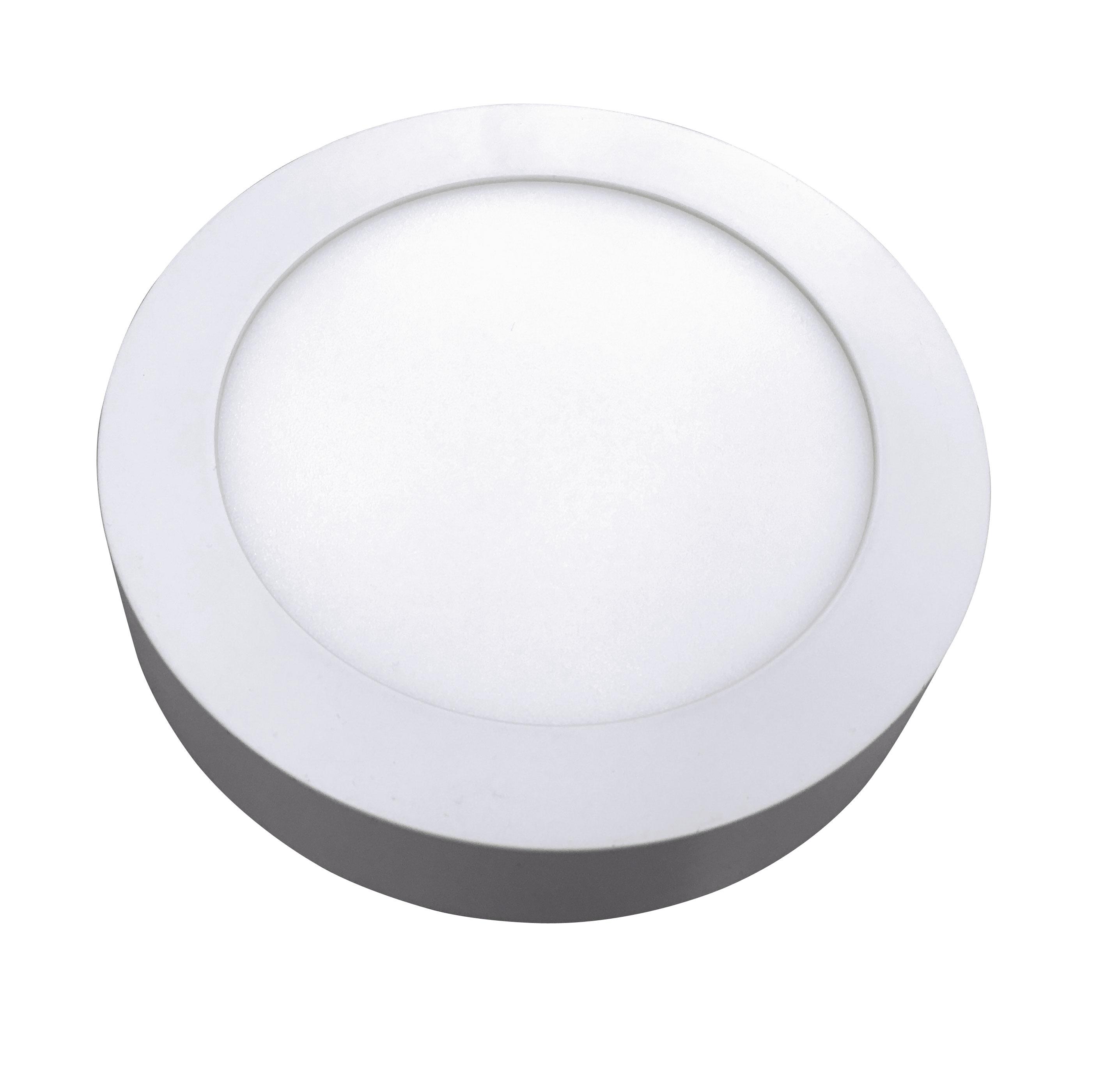 Plafon de Sobrepor HOME LED redondo 12W 6.400K (Luz Branca) Bivolt ø17,5 cm