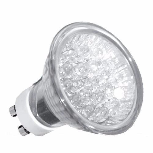 Lâmpada Dicróica Mr16 Led Gu10 1w 18 Leds 220v