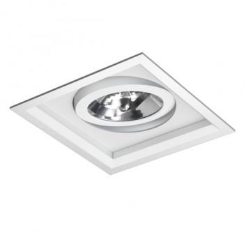 Luminária de Embutir Direcionável e Foco Recuado Para 01 AR111 - 071/1-BF Bella Luce