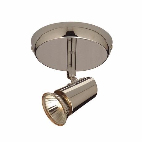 Luminária De Teto Spot De Sobrepor 1 Luz Direcionável Bronzearte
