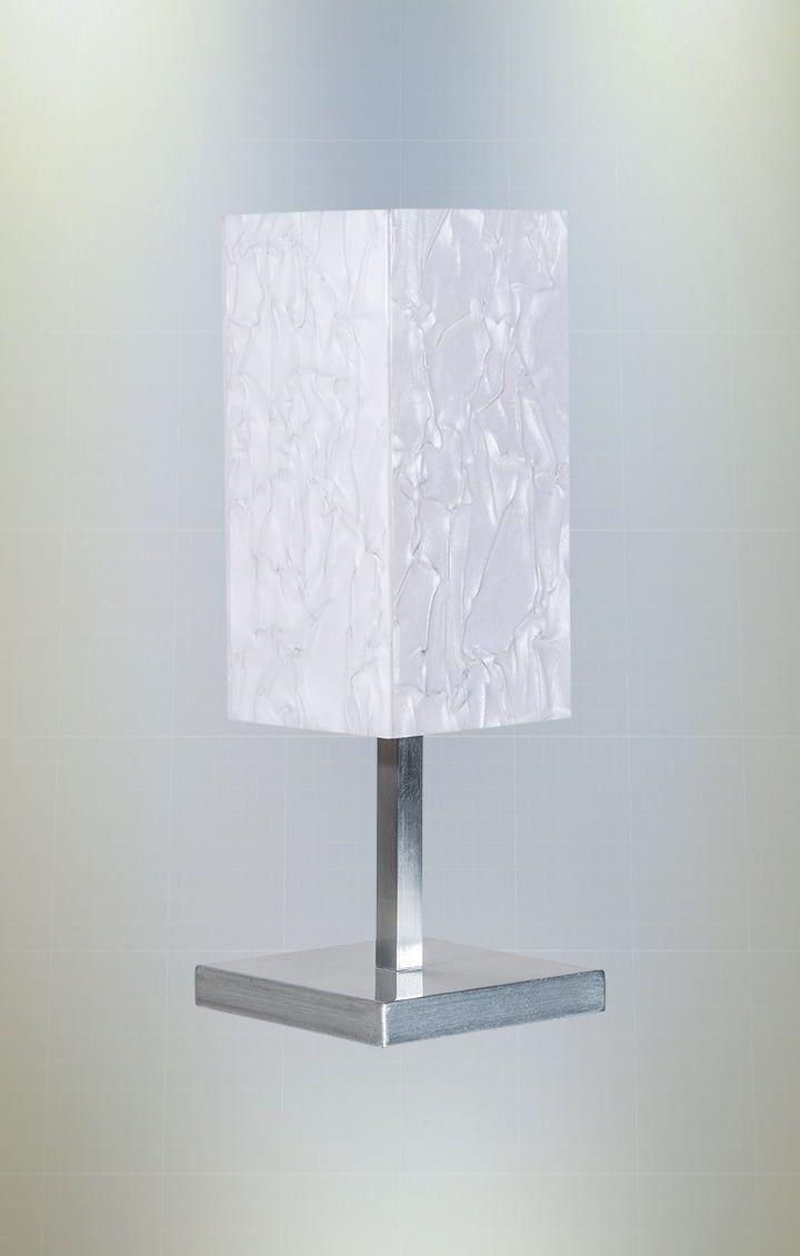 Abajur Madrepérola 19cm em Acrílico 1xE27