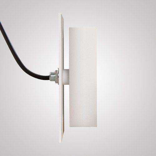 Arandela Facho Simples 2 Leds 3 Watts Ip 66 127 Volts