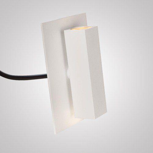 Arandela Facho Simples 2 Leds 3 Watts Ip 66 220 Volts