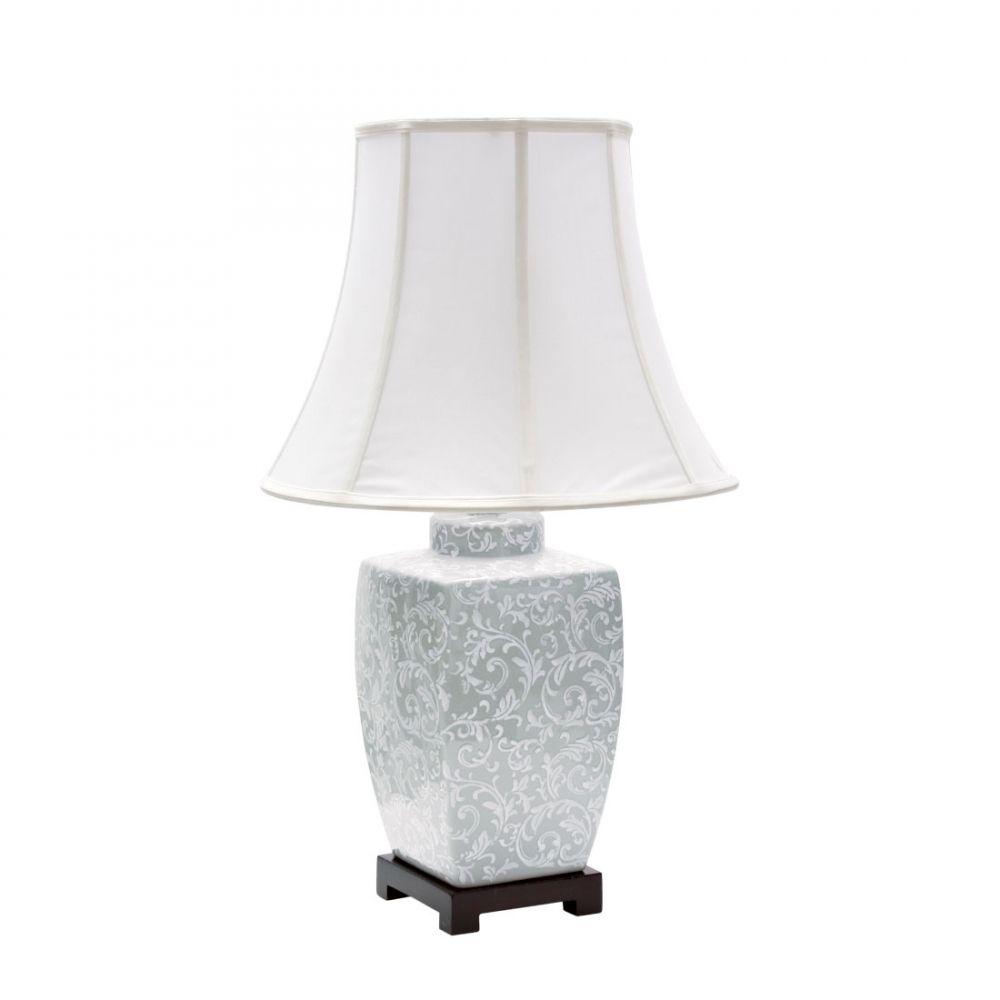 Base P/ Abajur Ceramica/Metal 45Cmh 1Xe27 - Branco