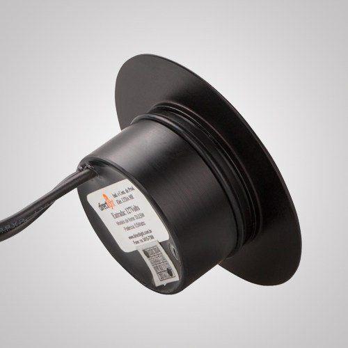 Embutido De Piso Redondo Com 1 Led 0,5 Watts Ip 66 220 Volts
