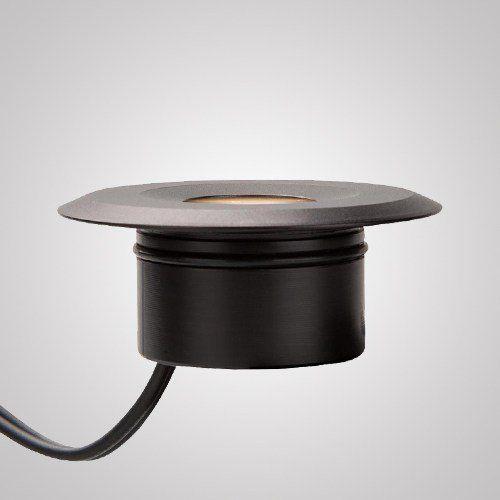 Mini Embutido De Piso Redondo 1 Led 0,5 Watts Ip66 220 Volts