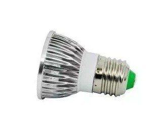 KIT 10 Lampada Spot Led Dicroica Branco Quente ou Branco Frio 4w E27 Bivolt Super
