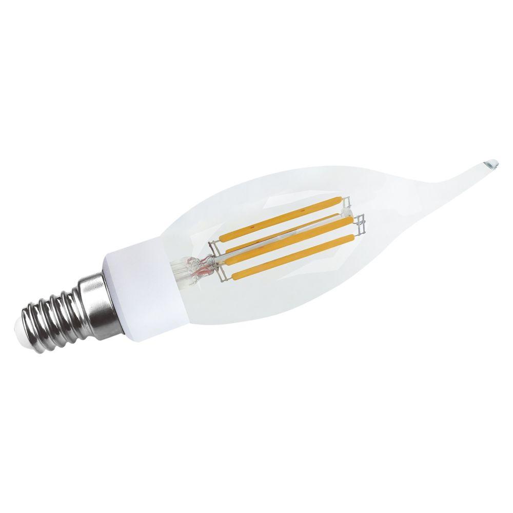 Lâmpada De Filamento De Led E14 3W 220V - Transparente