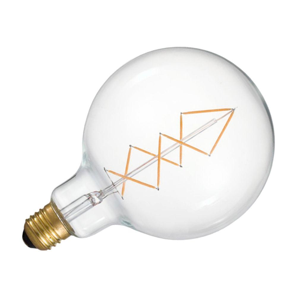 Lâmpada De Filamento De Led E27 6W 127V - Transparente
