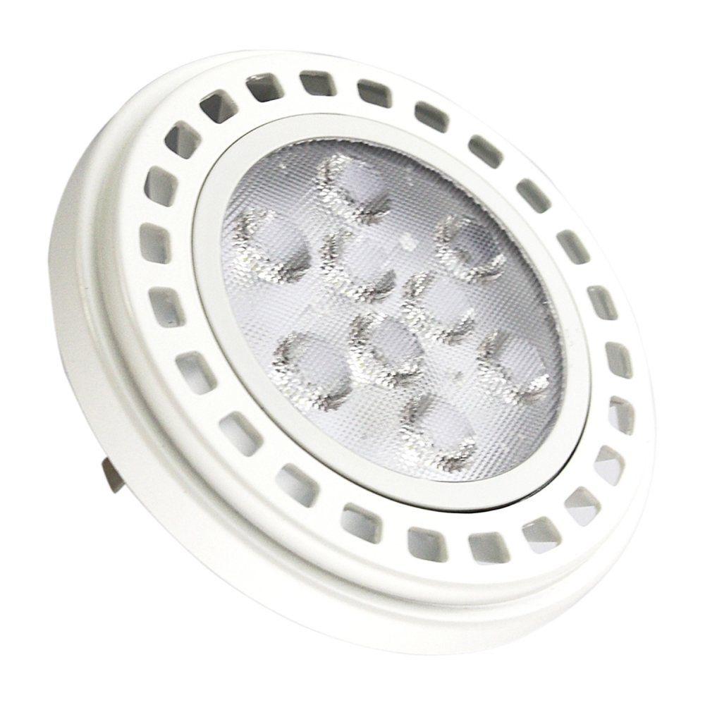 Lâmpada De Led Ar111 Gu10 11W 220V 3000K Dimer - Branco