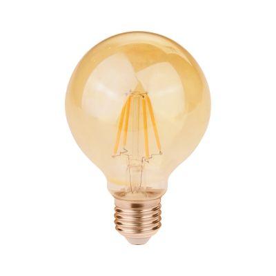 LAMPADA FILAMENTO LED G80 E27 2W 200LM 2400K 127-220V