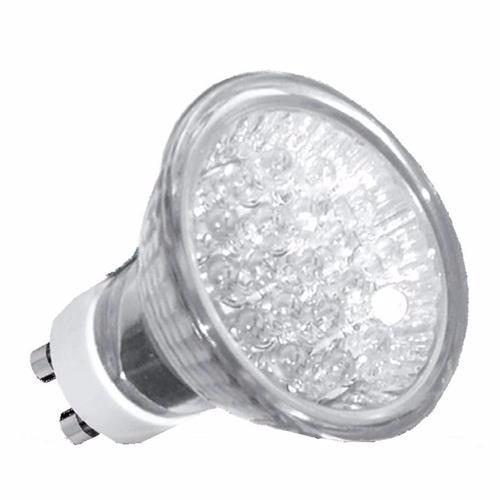 Lâmpada Led Dicroica Mr16 18 Led 1w 220v Branco Neutro Quente ou Branco Neutro