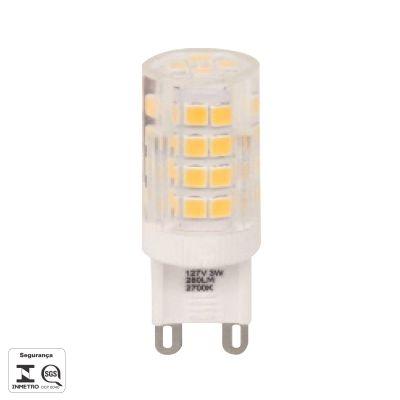 LAMPADA LED HALOPIN G9 3W 260LM 2700K 127V