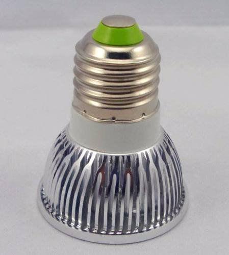Lâmpada Spot Led Dicroica Branco Quente ou Frio 4w E27 Bivolt Super