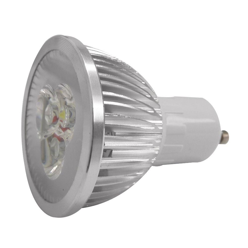 Lâmpada Super Led Gu10 Dicroica Branco Frio 4w - Bivolt