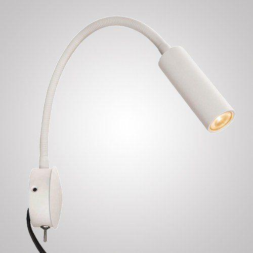 Luminária Flexível De Leitura Com 1 Led Ip20 127 Volts