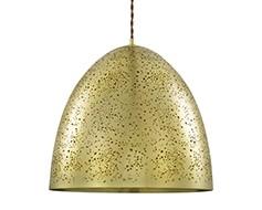 Pendente em Metal Dourado