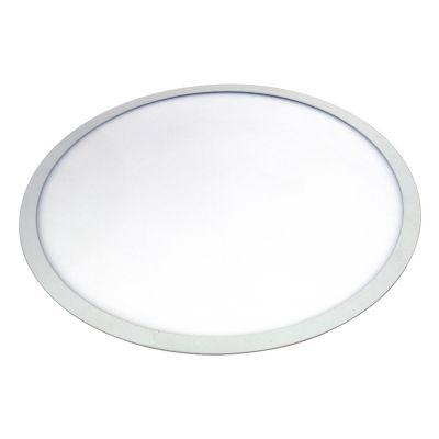 Plafon Smart Embutir Redondo 30W 6000K 40Cm - Branco Microtexturizado