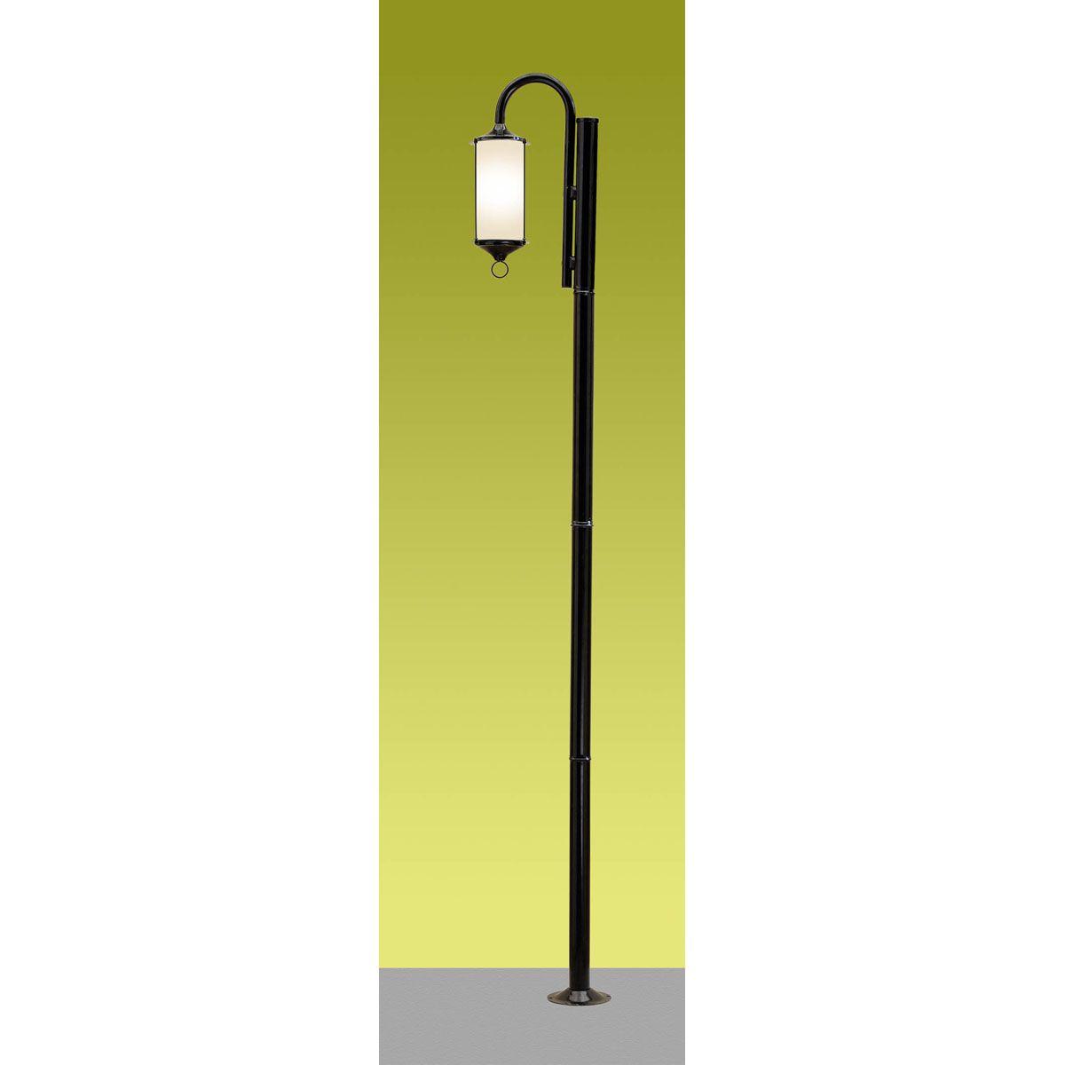 Poste Munich 01 E27 220m 01 vidro cilindro (incluso) - Preto
