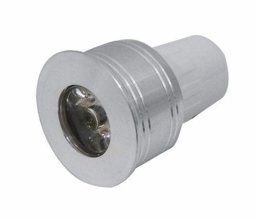 Power Led mini-dicróica com 1 Led-3W 12V-verde-base MR11-blister