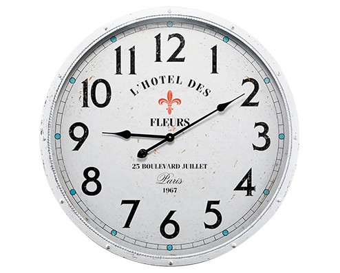 Relógio de Parede Branco